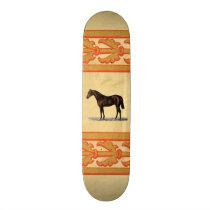 Brown Horse Skateboard