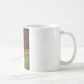 Brown Horse w/ White Nose at Woods Edge Coffee Mug