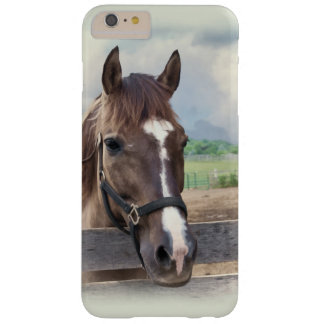 Brown Horse with Halter Barely There iPhone 6 Plus Case