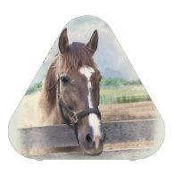 Brown Horse with Halter Bluetooth Speaker
