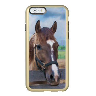 Brown Horse with Halter Incipio Feather® Shine iPhone 6 Case