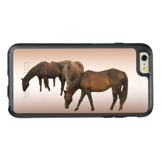 Brown Horses Animal OtterBox iPhone 6 Plus Case