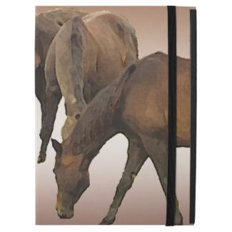 Brown Horses iPad Pro Case