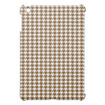 Brown Houndstooth Case For The iPad Mini