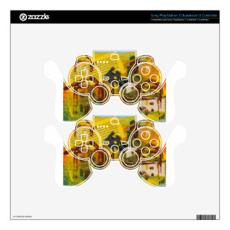 Brown House 2 PS3 Controller Decals