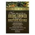 Brown Hunting Camo Bridal Shower Invitations (<em>$1.85</em>)