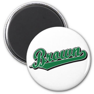 Brown in Green Magnet