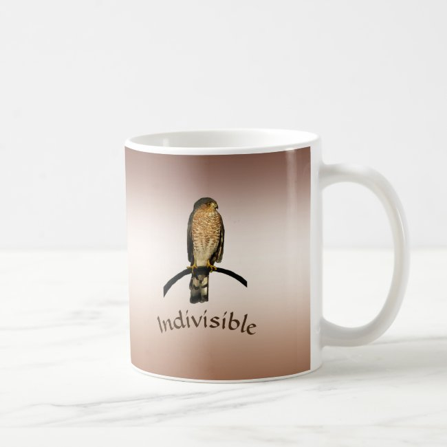 Brown Indivisible Hawk Mug