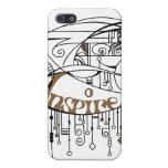 Brown inspira en líneas y cuelga iPhone 5 protectores