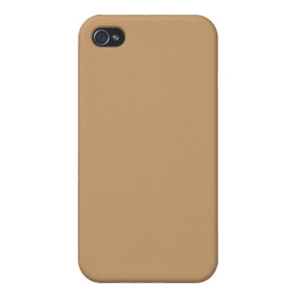 brown iPhone 4 cover