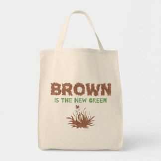 Brown Is The New Green Tote Bag