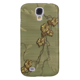 Brown ivy and grape leaf samsung galaxy s4 cover