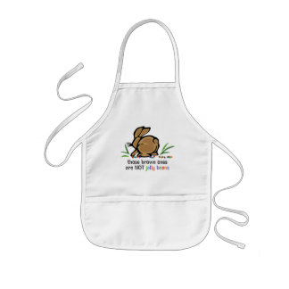 Brown Jelly Beans Aprons