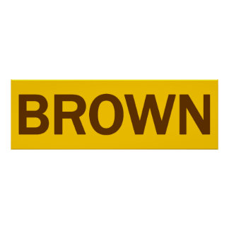 BROWN - Jerry Brown 4 CA Governor Poster