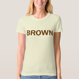 BROWN - Jerry Brown 4 CA Governor T-Shirt