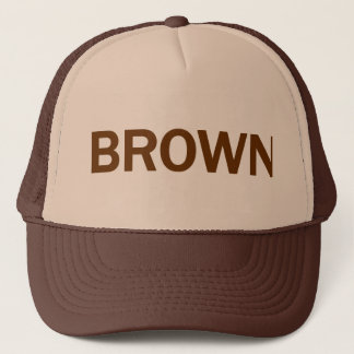 BROWN - Jerry Brown 4 CA Governor Trucker Hat
