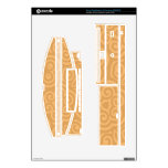 Brown Kaleidoscope Abstract Pattern Decals For The PS3