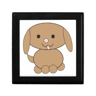 Brown Kawaii Dog Gift Box