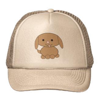 Brown Kawaii Dog Trucker Hat