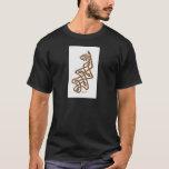 Brown Knotwork Oak Leaf & Acorn T-Shirt