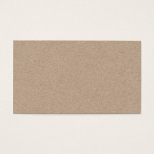 Kraft business cards templates zazzle brown kraft paper background printed business card reheart Images