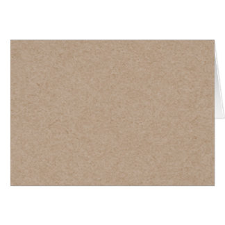 Brown Kraft Paper Background Printed Stationery Note Card