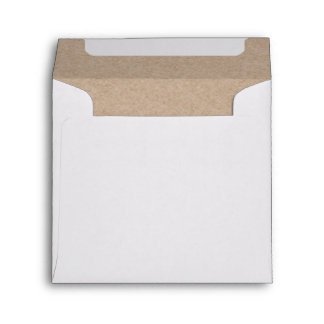 Brown Kraft Paper Background Printed Envelope