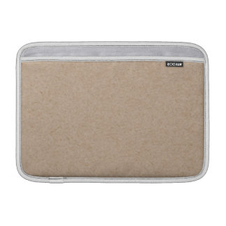 Brown Kraft Paper Background Printed Sleeve For MacBook Air