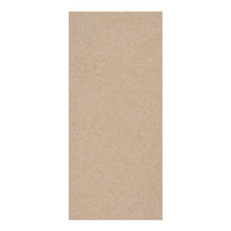Brown Kraft Paper Background Printed Rack Cards