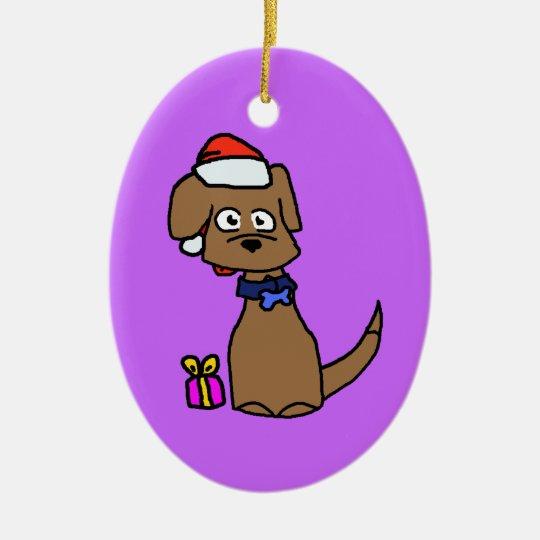 Brown Labrador Ornament