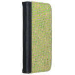 Brown layer with style potato, estopa stock market iPhone 6/6s wallet case