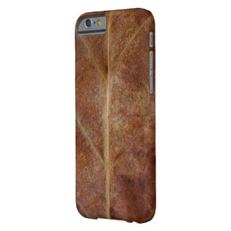Brown Leaf Leaves Tree iPhone 6/6s Barely There iPhone 6 Case