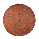 Brown leather dart boards