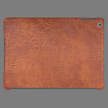 Brown leather iPad air covers