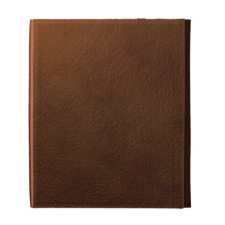 Brown Leather Ipad case Faux