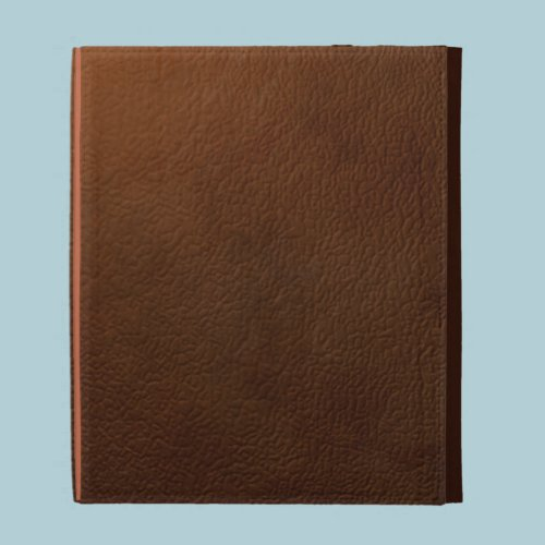 Brown Leather Ipad case...Faux iPad Case