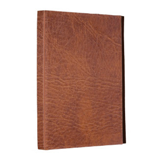 Brown leather iPad cases