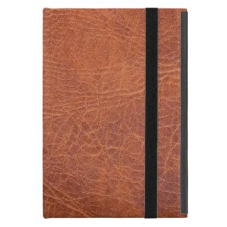 Brown leather iPad mini cover