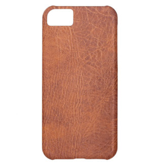 Brown leather iPhone 5C cases