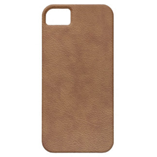 Brown Leather iPhone SE/5/5s Case