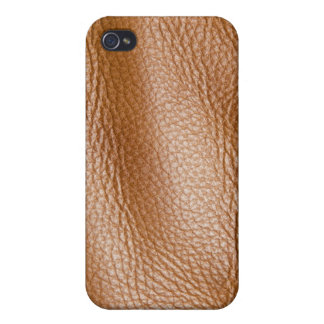 Brown Leather..Not quite! iPhone 4/4S Case