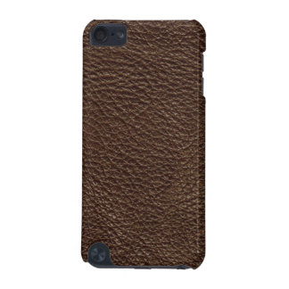 Brown Leather Print Texture Pattern iPod Touch 5G Cover