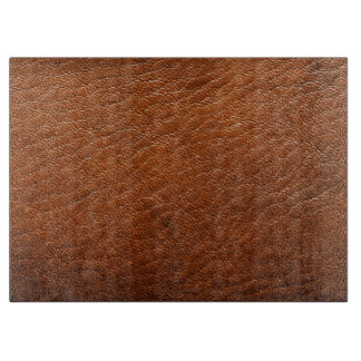 Brown Leather Texture Cutting Board