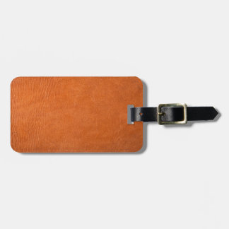 Brown leather texture for background bag tag