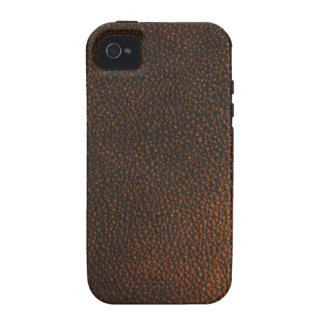 Brown Leather Texture iPhone 4/4S Covers