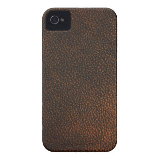 Brown Leather Texture iPhone 4 Case