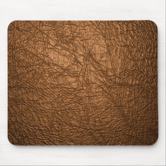 brown leather texture mouse pad