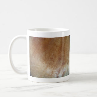 Brown Leather Texture Coffee Mugs