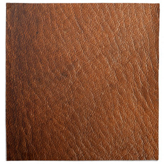 Brown Leather Texture Napkins