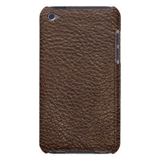 Brown Leather Texture Pern iPod Case-Mate Cases